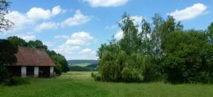 Výhled na panorama Železných hor